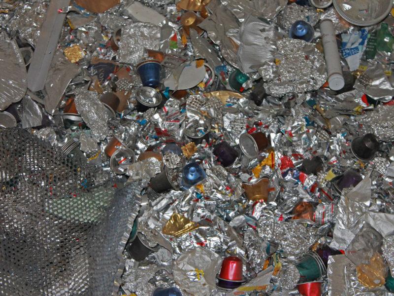 Capsules et aluminium